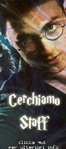 Cercasi staff! - Collabora con Harry Potter Italia